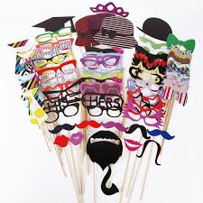 photo booth props for sale christmas gift sale 76pcs diy photo booth props moustaches on a