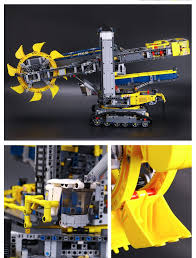 lego technic bucket wheel excavator lepin 20015 bucket wheel excavator u2013 lol toy