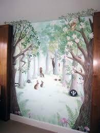 woodland nursery painting google search jan u0027s baby shower
