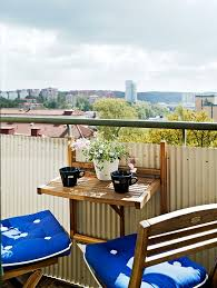 45 cool small balcony design ideas digsdigs pop up tv tray