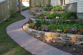 Backyard Retaining Wall Ideas Backyard Retaining Wall Designs Decor Of Backyard Retaining Wall