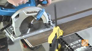 Laminate Flooring Cutting Tools Installing Laminate Flooring Step 4 Cut First And Last Rows