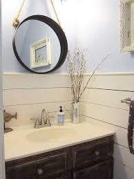 Tiny Bathroom Makeovers - tiny half bath makeover hometalk