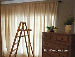 Curtains For Master Bedroom Master Bedroom Curtains From Drop Cloths