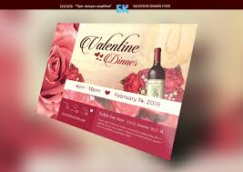 valentines flyer template templates deals