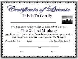 free certificate template certificate of license