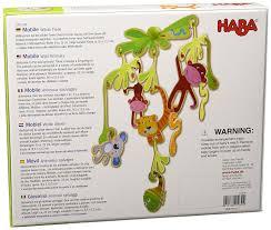 Haba Bad Rodach Haba 300338 Mobile Wilde Tiere Amazon De Spielzeug