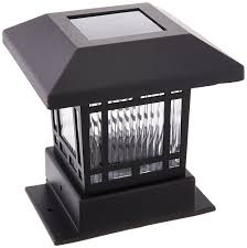 Wooden Solar Lights by Best Solar Post Lights Ledwatcher