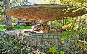 frank lloyd wright u0027s mushroom shaped house in westchester asks