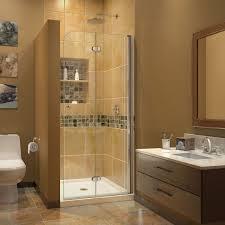 dreamline chrome aquafold shower clear glass shower shdr 3634720