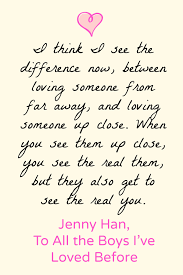 Serendipity Love Quotes by To All The Boys I U0027ve Loved Before Love Quotes Books