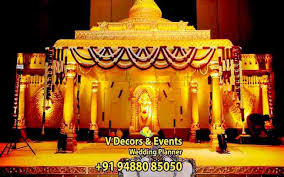 Marriage Decorations V Decors And Events 9488085050 Wedding Planner Rb Group