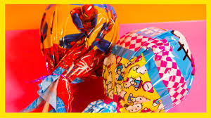surprise cake pops spiderman hello kitty surprise unboxing cake