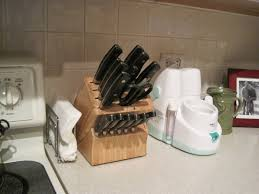 Knife Blocks by The Many Layers Of Me A Painted Knife Block