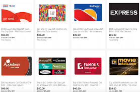 ebay save on gift cards from southwest exxon gap darden