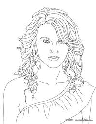 coloring pages of people taylor swift coloring pages coloring pages printable coloring