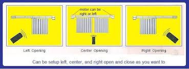 Motorized Curtain Track System Motorized Curtain Track Smart Home Used Motorized Curtain Dooya