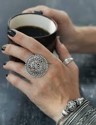 big ladies rings images Unique silver ring big silver rings 925 silver jewelry silver jpg