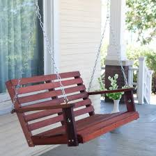 porch swing cushion with back home design ideas