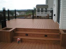 creative deck designs gallery u2013 railings composite rails