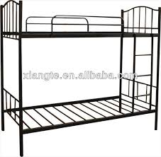 customized strong metal frame bunk bed double decker bed
