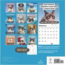 Grumpy Cat Mini Wall Calendar - grumpy cat 2017 wall calendar grumpy cat 9781452145464 com