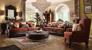 Traditional Leather Sofa Set Sofas Center Hd Homey Design Traditionalofaet Contemporary