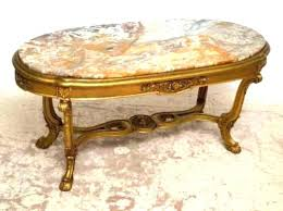 antique round coffee table antique round marble top coffee table rectangular white marble top