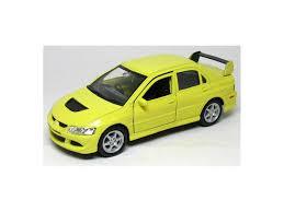mitsubishi yellow коллекционная модель mitsubishi lancer evol viii желтая 1 38
