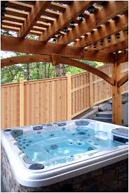 backyards cool landscaping tub pictures solutions custom