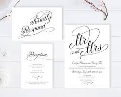 wedding invitations rsvp cheap wedding invitations with rsvp 2 or less emmaline