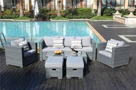 hokku designs monaco 7 seater sectional sofa set with cushion