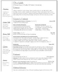 Hospitality Resume Sample by Examples Of Resumes Curriculum Vitae Sample Business Student O