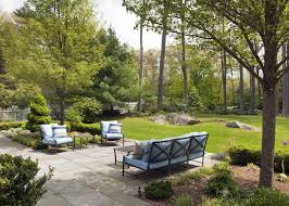 boston lowes patio furniture landscape traditional with backyard