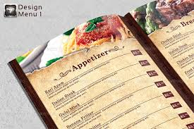 takeout menu template 25 high quality restaurant menu design templates web graphic