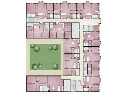 Apartment Complex Floor Plans by Small Apartment Building Floor Plans With Ideas Design 41058