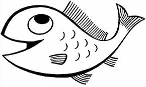 fish coloring pages printable newcoloring123