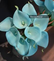 turquoise flowers centerpieces 10 weddbook