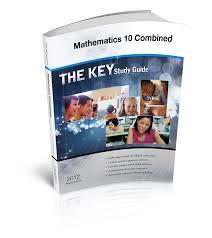 the key study guide alberta mathematics 10 combined u2014 castle