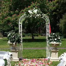wedding ceremony arch wedding arch hire backdrops arbours weddings melbourne