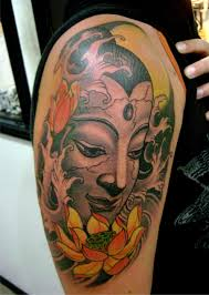 Buddhist Flower Tattoo - buddhist tattoo picures images page 3