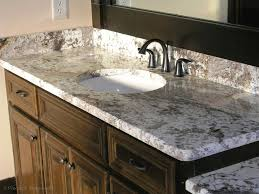 Bathroom  Bathroom Countertops Modren Ideas Design Home Furniture - Elegant bathroom granite vanity tops household
