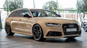 first audi ever made audi rs6 is the first car with new exclusive
