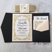 vintage wedding invitation camilla vintage wedding invitation suite all that glitters