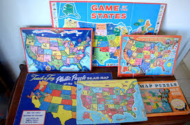 us map puzzle wood the copycat collector collection 149 vintage children s usa