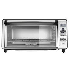 Amazon BLACK DECKER 8 Slice Toaster Oven with Digital Controls