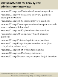 Administrative Resume Example by Download Linux System Administration Sample Resume
