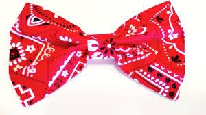bandana bow bandana dog bow tie bandana bow doggonecuteapparel