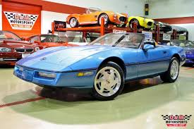 1989 corvette convertible 1989 chevrolet corvette convertible stock m4788 for sale near