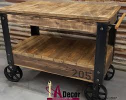 Kitchen Island Or Cart by Wood Cart Etsy
